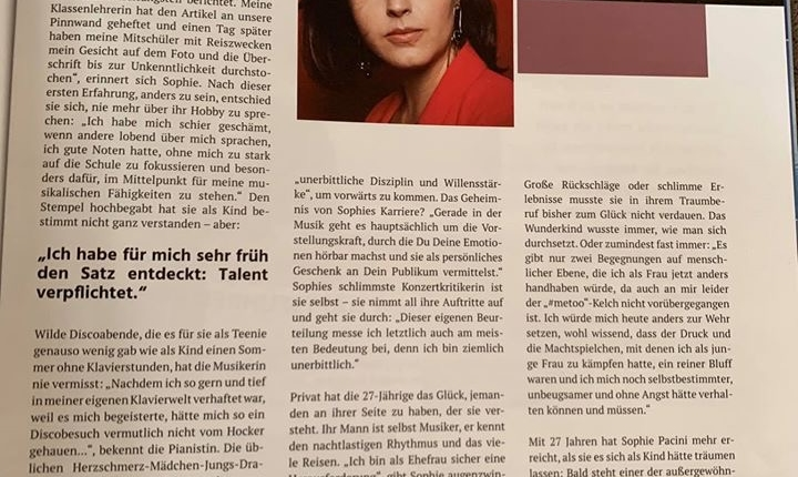 Sophie Pacini bei Secrets of Success 2