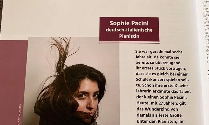 Sophie Pacini bei Secrets of Success