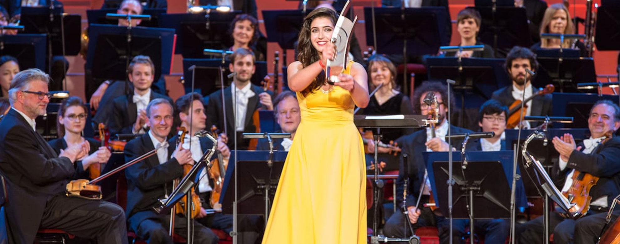 Echo Gewinnerin Pianistin Sophie Pacini 2